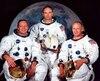 Les astronautes Neil Armstrong, Michael Collins et Buzz Aldrin