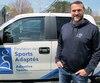 L'ex-joueur des Alouettes Steve Charbonneau est le directeur général de la Fondation des sports adaptés depuis 2015.