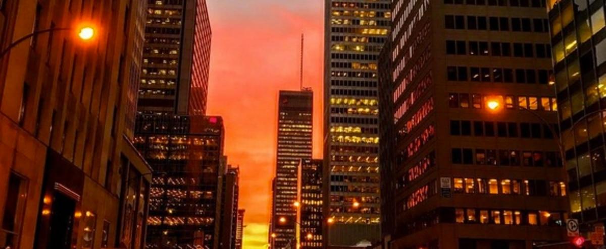27 photos pas si incroyables du coucher de soleil prises - Coucher de soleil montreal ...