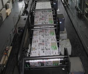 Bloc Imprimerie Presses Journal jdem jdm Mirabel
