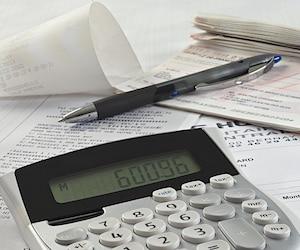 bloc impôts taxes facture