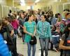 École secondaire polyvalente adolescents
