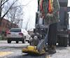 asphalte recyclée nid de poule montréal