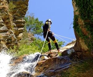 Canyoning à la Chute Jean-Larose