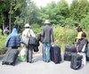 migrants, réfugiés, roxham, usa, canada, frontière