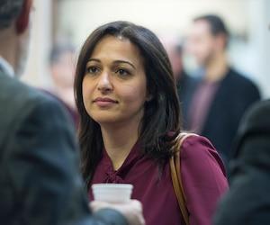 La députée de Mercier, Ruba Ghazal
