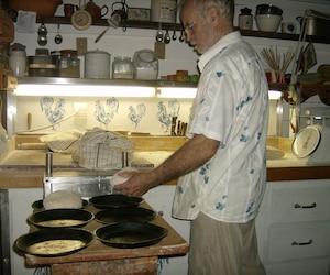 Léandre Bergeron affirme qu'il ne permettra pas aux inspecteurs du MAPAQ d'avoir accès à sa cuisine située dans sa résidence.