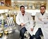 Philippe Després et François Rouleau dénoncent les impacts de la grève sur leur programme en microbiologie.