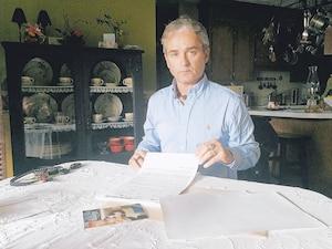 Richard Custeau, frère de Réal Custeau qui est décédé lors de l'explosion du train le 6 juillet 2013.