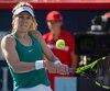 Eugenie Bouchard a disputé hier un beau match. Digne d'une joueuse de l'élite mondiale.