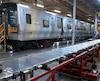 L'usine de Bombardier à La Pocatière embauche tout près de 500 travailleurs. Sur cette photo d'archives, prise il y a quelques années, un wagon est en construction à ces installations.