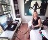 Stéphanie Lachance, photographiée dans la chambre de son fils Raphaël, s'est rendue à Victoria l'an dernier après le drame et en mai 2017, pour l'enquête préliminaire.