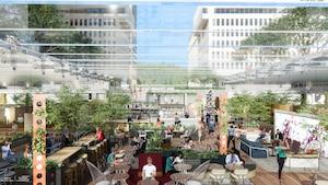 Un immense biergarten va ouvrir au centre-ville