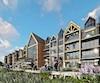 Selon le promoteur, chaque propriété offrira une vue « imprenable » sur le fleuve.