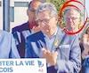 Guy Ouellette, encerclé sur la photo, assistait à une annonce électorale en compagnie de Philippe Couillard (à gauche) le 8 septembre dernier à Laval.