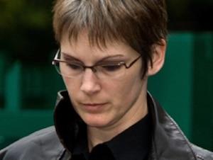 Cathie Gauthier, 35 ans, dans une photo prise il y a quelques jours. Elle est accusée du meurtre de ses trois enfants.