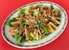 Salade de laitue, clémentines et figues