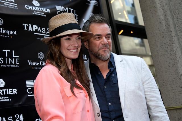 Andrée Watters et Sylvain Cossette