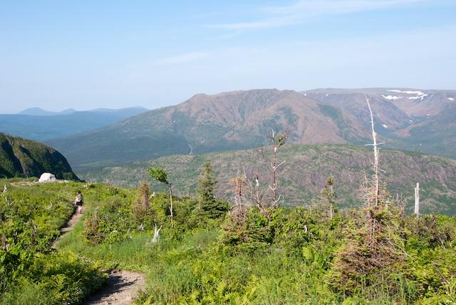 Randonnée sur le mont Ernest-Laforce.