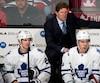 Dans le vestiaire des Maple Leafs, seulement six joueurs ont disputé plus de sept matchs éliminatoires dans la LNH et ils ont acquis cette expérience avec d'autres équipes.