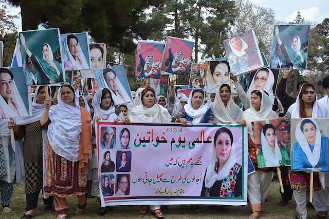 À Quetta, au Pakistan.