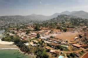 Freetown, la capitale de la Sierra Leone