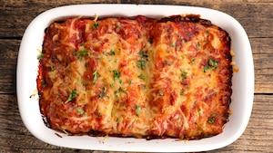 Cannellonis au jambon