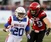 Les Alouettes de Montréal affichent le pire rendement offensif de la Ligue canadienne de football cette saison.