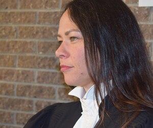 Me Marie-Ève Phaneuf, procureure aux poursuites criminelles et pénales.