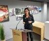 L'Université Laval a déboursé près d'un demi-million de dollars pour ce bureau d'accueil.