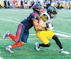 SPO-ALOUETTES-TIGER CATS-FOOTBALL