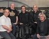 La formation rock-progressive Morse Code. Michel Vallée, Gilles Simard, Jean Ravel, Gilles «Greg» Beaudoin et Daniel Lemay.