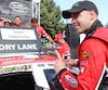 Kevin Lacroix a remporté quatre victoires cette année dans la série NASCAR Pinty's Canada.
