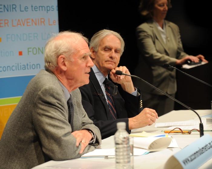 Assurer la neutralité de l'État, tel que le veut la ministre Stéphanie Vallée, c'est comme si la Commission Bouchard (à droite)-Taylor n'avait jamais existé.