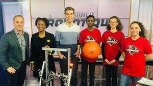 Une compétition de robots conçus par des jeunes