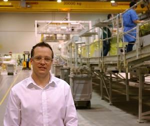 Alexandre boulay, Directeur de l'usine