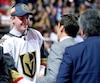George McPhee, grand manitou des Golden Knights de Vegas, était heureux d'accueillir le premier choix de l'équipe, Cody Glass.