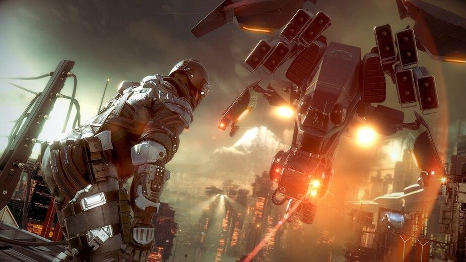 Des images de Killzone: Shadow Fall, une exclusivité lancée en même temps que la PS4.