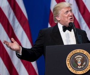 Inauguration Day: ARMED FORCES BALL