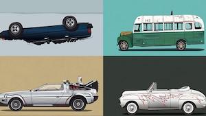 Reconnaissez-vous ces films par leur voiture?