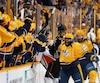 P.K.Subban a profité de chaque seconde de l'ultime victoire des Predators contre les Ducks, lundi soir.