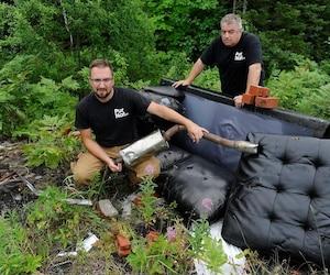 Les fondateurs de PurNat affirment faire des démarches depuis plus d'un an auprès de la Ville pour obtenir le feu vert pour nettoyer le secteur. Selon le duo père-fils formé de Marcel et Jean-Raphaël Poiré, la problématique ne ferait qu'empirer depuis quelques années.
