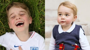 Le prince George a bien grandi
