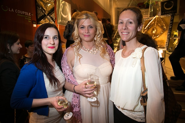 Miriam Cyr, Sarah Vleminckx et Anne-Marie Blais.
