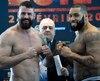 Même s'il se rapproche du rêve de boxer en finale d'un gala de boxe en Côte d'Ivoire, Éric Martel-Bahoéli (à droite) devra d'abord en découdre avec Adam Braidwood, vendredi soir.