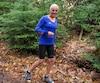 Jacqueline Gareau continue de courir à 64 ans, notamment dans les sentiers boisés de Sainte-Adèle