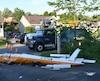 L'appareil que pilotait Mario Fiset s'est écrasé sur l'avenue de la Colline à Saint-Raymond vers 16h30 samedi.