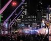 Les organisateurs du festival Montréal en lumière (photo prise samedi dernier), qui se tient jusqu'à dimanche dans le Quartier des spectacles, à Montréal, font partie de ceux qui demandent l'aide des pouvoirs publics pour toucher plus d'argent.