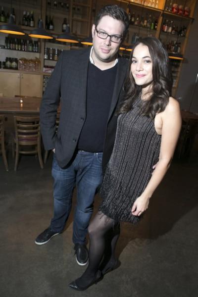 Mathieu Bock-Côté et sa conjointe l'animatrice Karima Brikh.