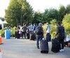 Près de 10 000 migrants ont traversé la frontière de manière irrégulière cet été en passant par le rang Roxham à Saint-Bernard-de-Lacolle, en Montérégie.
